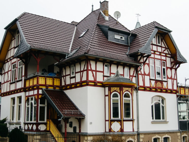 Jugendstilvilla in Eisenach.